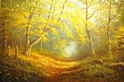 Autumn Shades by James Preston - Limited Edition on Paper sized 19x13 inches. Available from Whitewall Galleries
